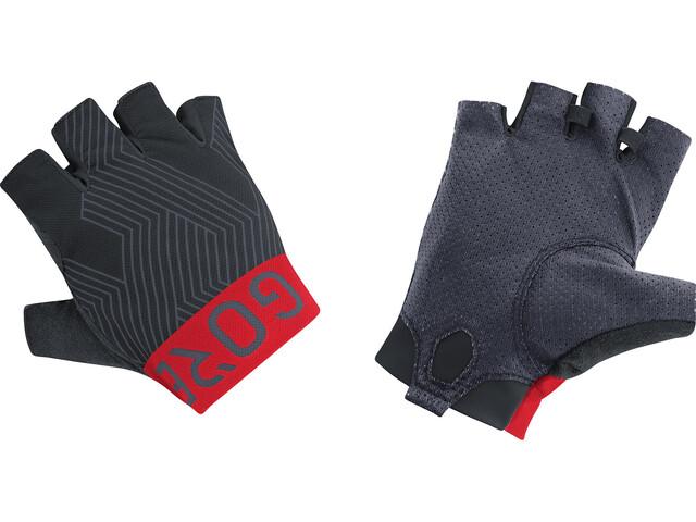 GORE WEAR C7 Short Finger Pro Gloves black/red